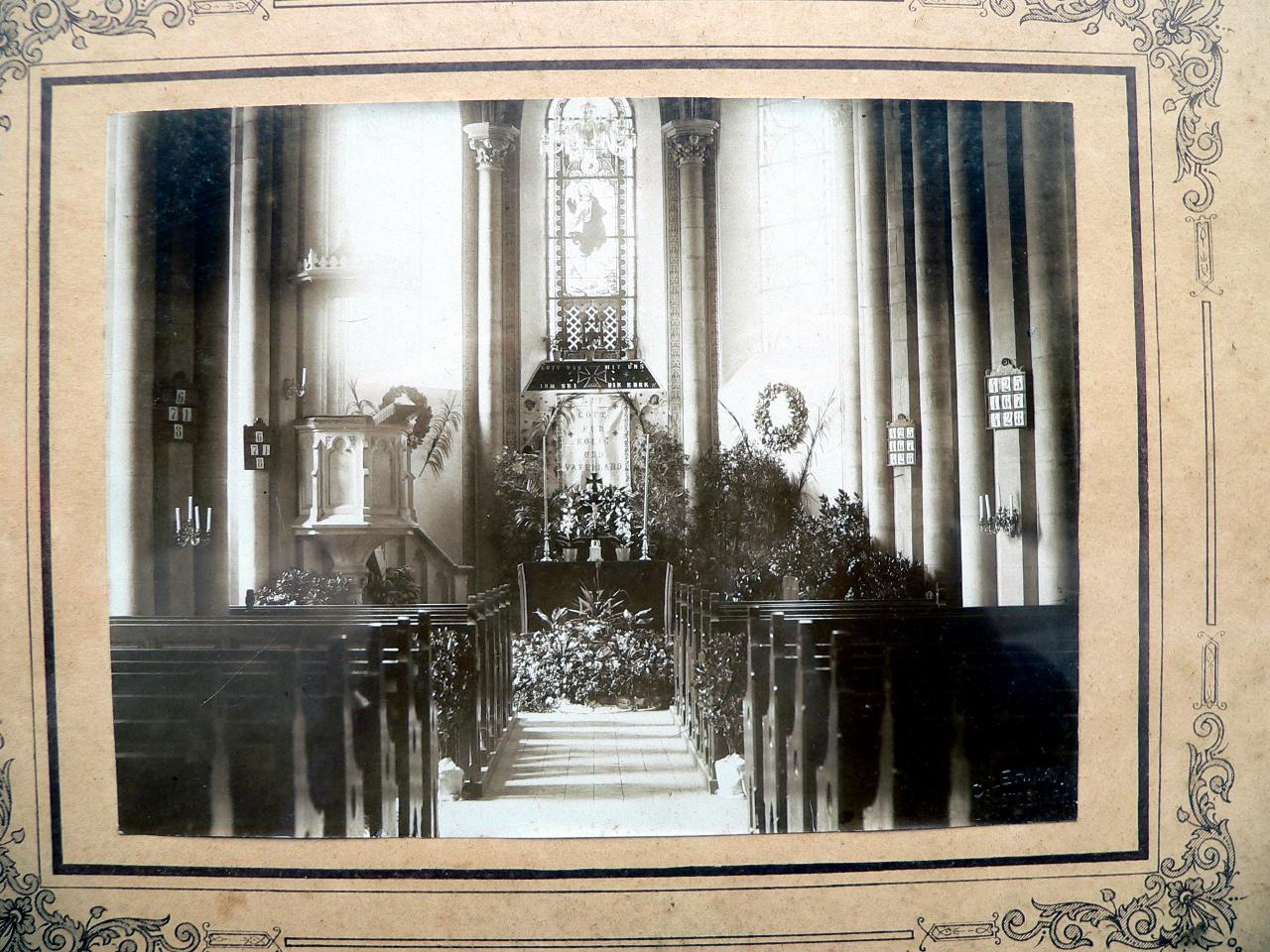 église protestante période 1914-1918