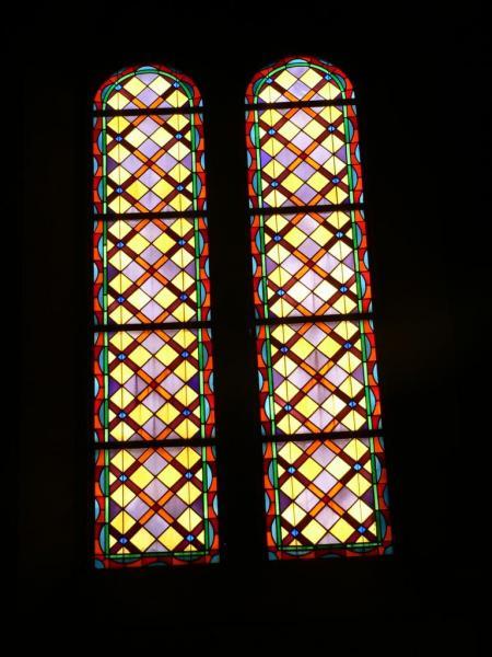 eglise vitraux côté