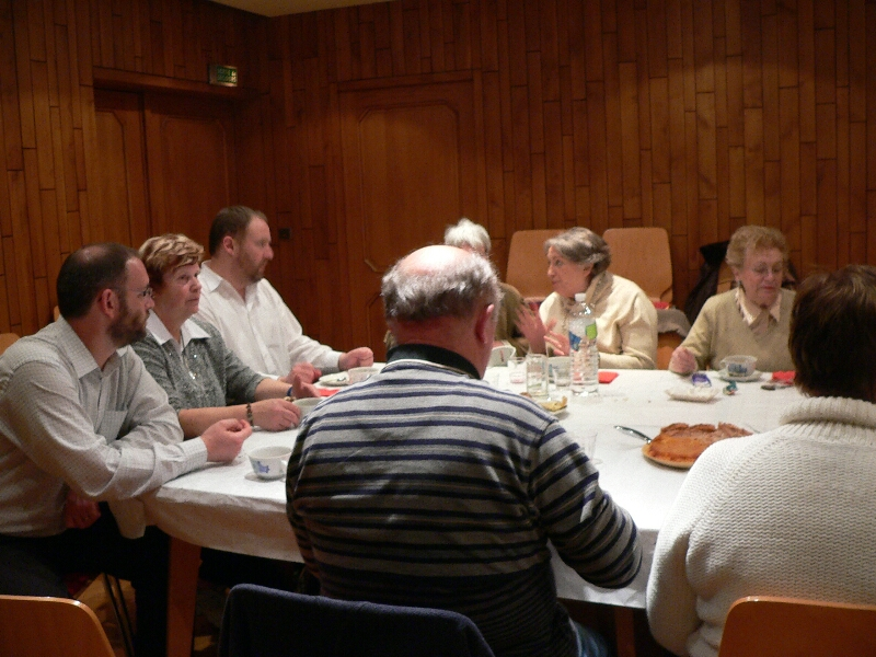 réunion repas