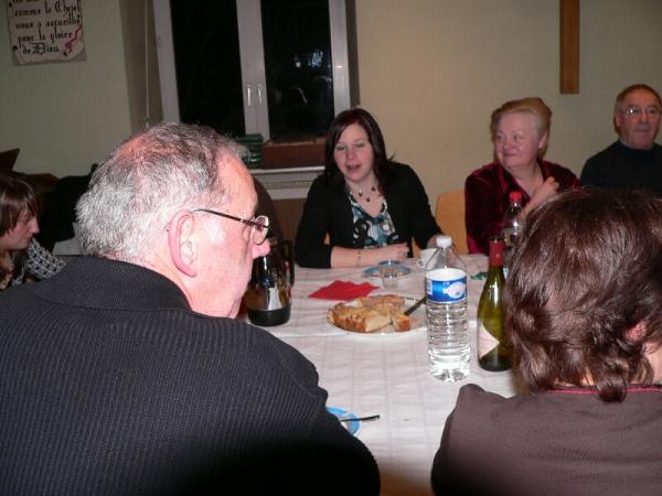 réunion repas 2011